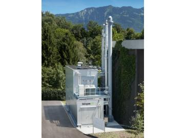Biogasupgrading by LP Cooab® 170 Nm3/h gasgrid injection