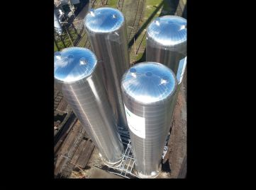 pur insulated pressure vessel 300 ton LCO2
