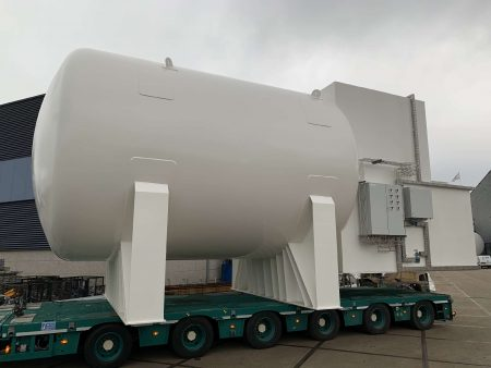 Maritime fuel LNG tank 65 m3 with Tank Connection Space