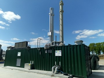 Bio Up 60 Nm3h gasgrid injection The Netherlands